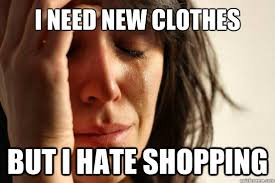 hate shopping